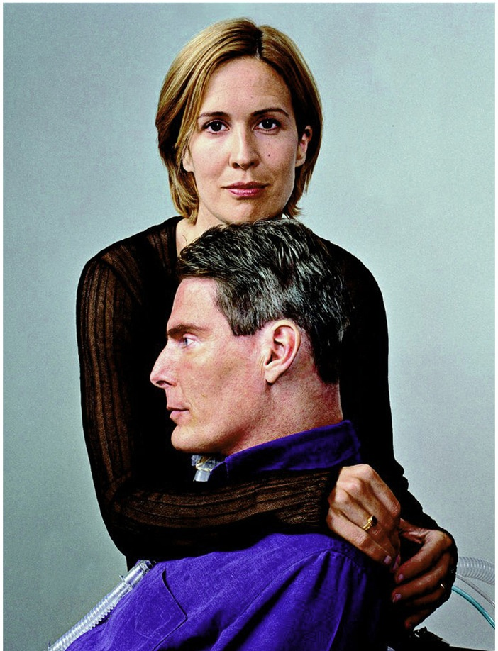 Dana and Christopher Reeve