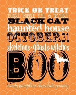 Printable: Halloween Stuff, Six Sisters, It Work, Printables, Free Halloween, Halloween Printable, Free Printable, Halloween Art, Halloween Subway Art