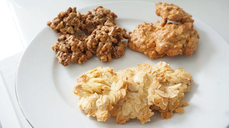 Makkelijke koolhydraatarme notenkoekjes