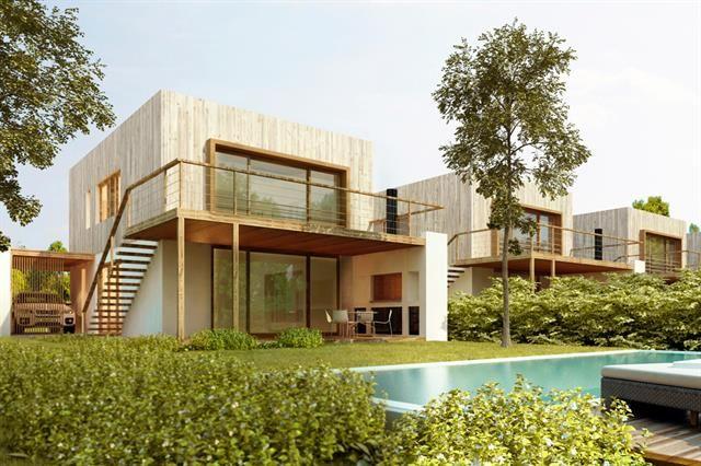 Con un formato más pequeño las Townhoses logran todas las prestaciones de una casa, pero con menor costos de mantenimiento.