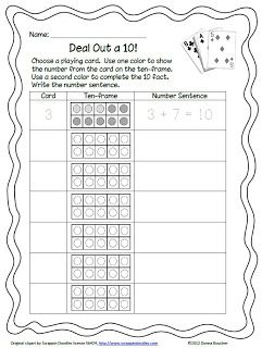 Classroom Freebies: Making Tens