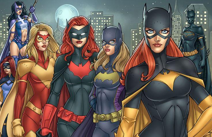 Bat Women by *DAlexisStPierre on deviantART