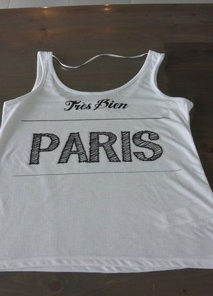 À vendre sur #vintedfrance ! http://www.vinted.fr/mode-femmes/debardeurs/30006083-debardeur-blanc