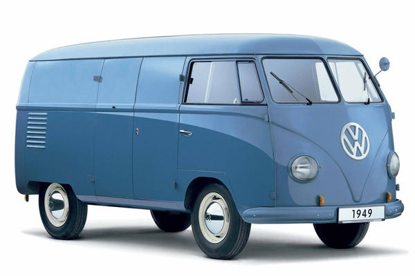 VW Transporter T1 1949Panels Vans, Vans 1950, Volkswagen T1, Volkswagen Kombi, Kombi Vans, Motors Vehicle, 65Th Birthday, Volkswagen Transportation, Volkswagen Types