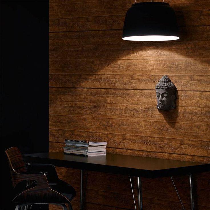 Behang met hout motief zorgt voor warme uitstraling in uw woning. Hoge kwaliteit vliesbehang voor een scherpe prijs. Eenvoudig aan te brengen en te verwijderen.