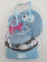 Dog Easter Basket 5 Piece Gift Set Beautiful Blue