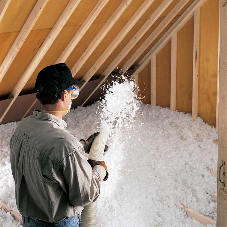 add attic insulation in most homes but especially in older homes adding insulation in