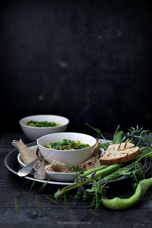 Minestrone di primavera- Spring soup