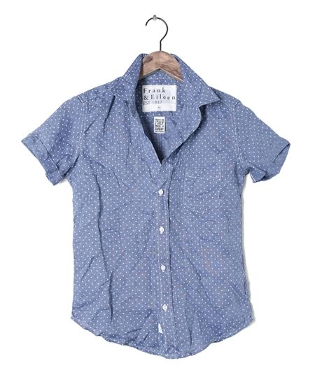 Womens Billy Jean Dot Linen Shirt