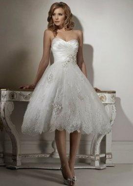 2012 short Sweetheart Princess Wedding Dress  Starting at: $129.00