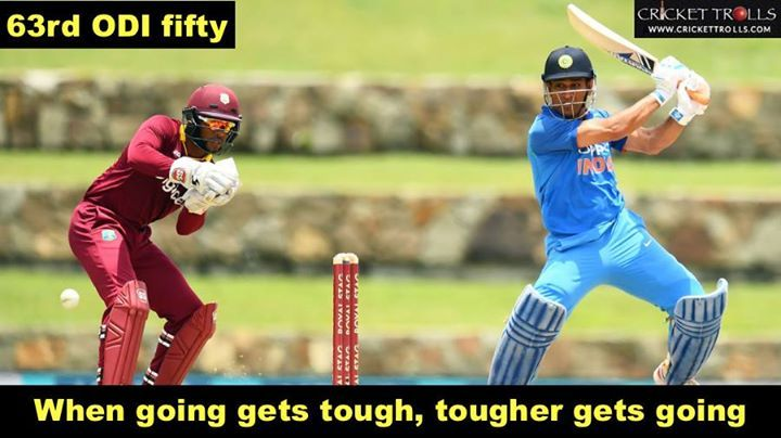 India: 251/4 (50 overs) MS Dhoni: 78 #INDvWI #WIvIND For more cricket fun click: http://ift.tt/2gY9BIZ - http://ift.tt/1ZZ3e4d