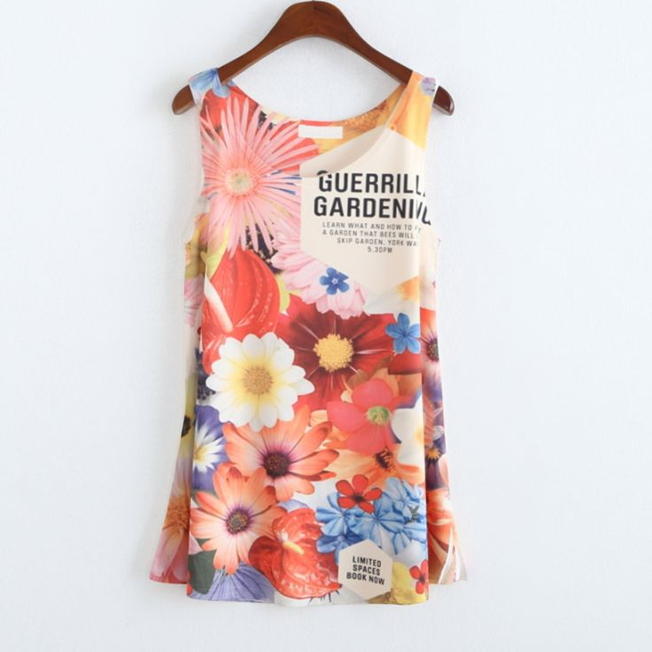 Find More T-Shirts Information about flowers letter printed sleeveless T shirt women,Camisetas mujer,ladies Tops,tee shirts,summer T shirts Woman Sports Shirt,High Quality T-Shirts from Vicky world's top garment co., LTD on Aliexpress.com