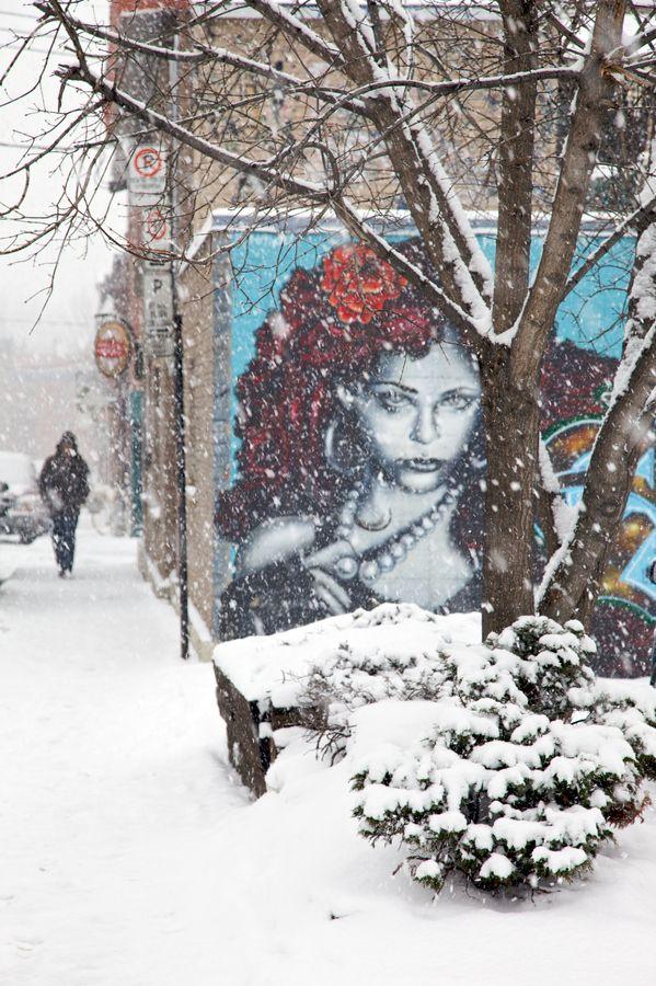 la fresque murale à Montréal