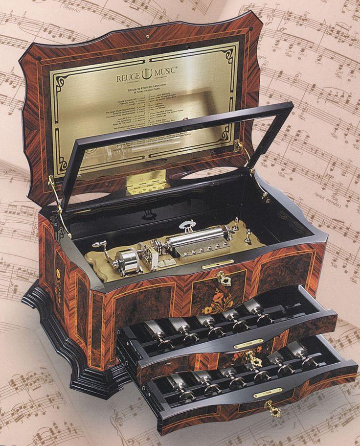 Reuge Music Boxes Reuge Catalog