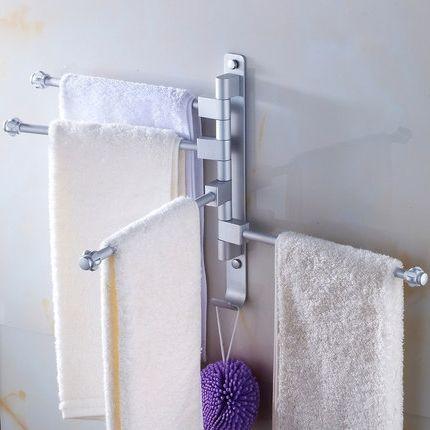 31.35$  Buy now - https://alitems.com/g/1e8d114494b01f4c715516525dc3e8/?i=5&ulp=https%3A%2F%2Fwww.aliexpress.com%2Fitem%2FTowel-Bar-Rotating-Towel-Rack-Bathroom-Kitchen-Towel-Space-Aluminum-Rack-Holder-Hardware-4Bars-Wall-Mounted%2F32691883075.html - Towel Bar Rotating Towel Rack Bathroom Kitchen Towel Space Aluminum Rack Holder Hardware 4Bars Wall Mounted Flexible 180 Degree