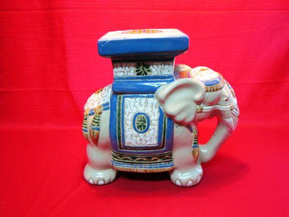 Figura de elefante indio vintage para decoración por BrocanterStore
