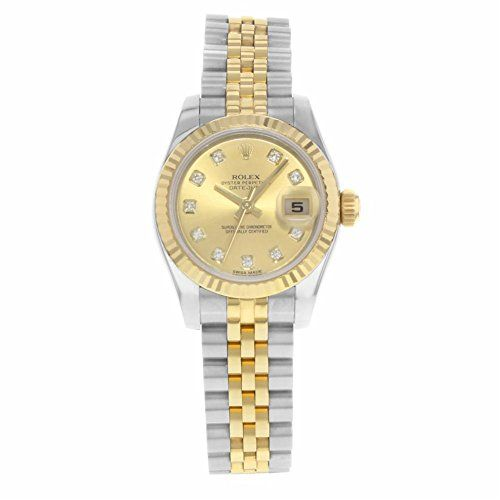 Rolex Datejust automatic-self-wind womens Watch 179173 chdj (Certified Pre-owned...