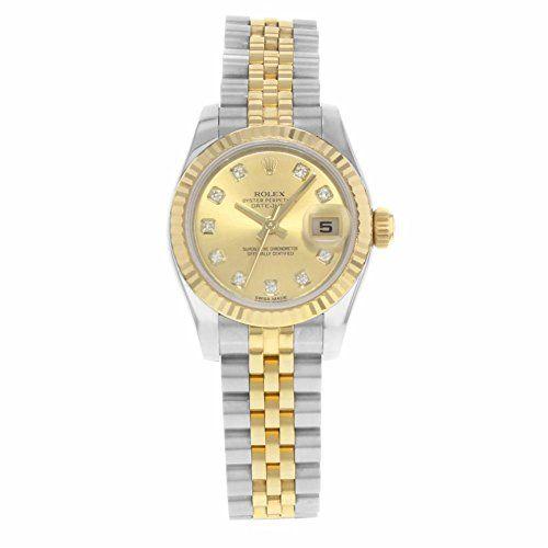 Rolex Datejust automatic-self-wind womens Watch 179173 chdj (Certified Pre-owned...