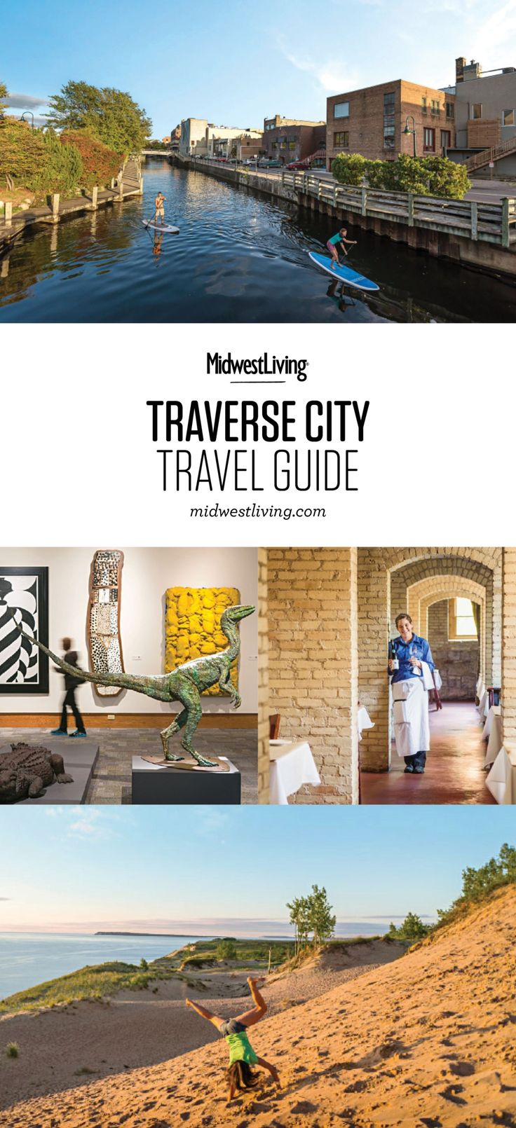 Paddleboarding, biking, sailing and dune-climbing are just some of the things to do in the Traverse City area. Wineries, high-end restaurants and activity-filled resorts keep days busy, too. Check out our guide to what to do, where to eat and where to stay in the Traverse City area.