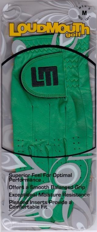 Ladies Solid Kelly Green Glove