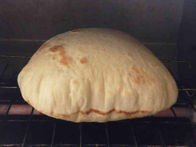 簡単ピタパンの生地(オーブントースター)の画像
