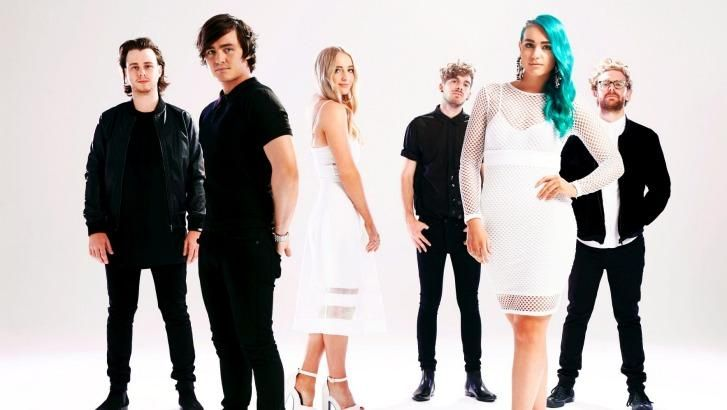 Sheppard become the first Australian band on US talk show Ellen.