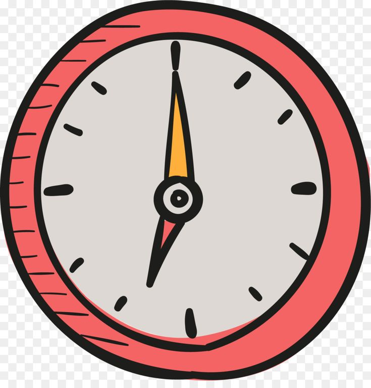 Clock timer icon cartoon drawing time in 2020 clock