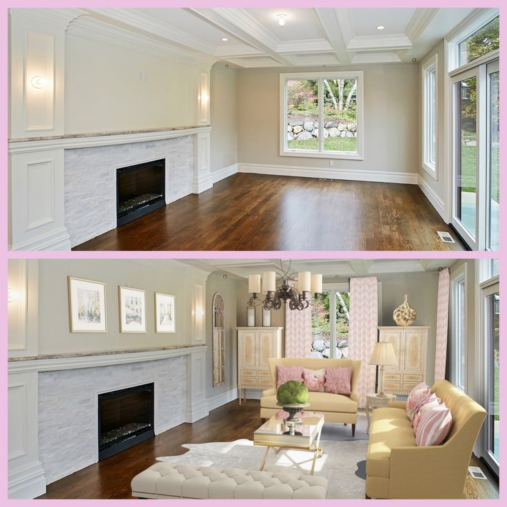 Virtual Home Decorator: 11 Best Before & After RoOomy Virtual Staging Images On