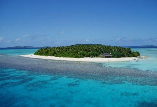 Mounu Island - Private Resort in Tonga