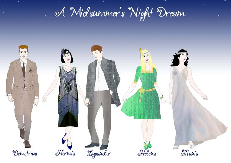 A Midsummer Night's Dream Characters