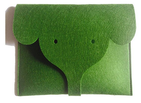 """Oberflächen-pro3 Fall Filz-Laptop-Hülle, Oberflächen-Laptop Abdeckung 10,6"""", Filz Computer Tasche, Chromebook Pixel 2015 Tasche, Geschenk des Lehrers, Elefant"""