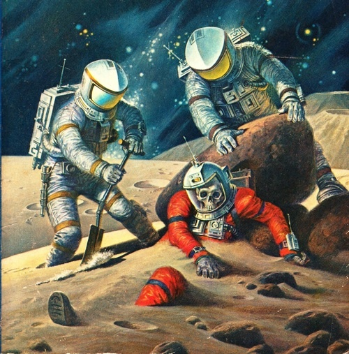 10 Cool Sci Fi Retro Artworks: 17 Best Images About HEINLEIN, ROBERT On Pinterest