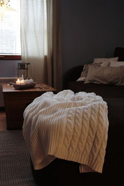 Peitto vanhoista neulepaidoista/Blanket of the old sweaters