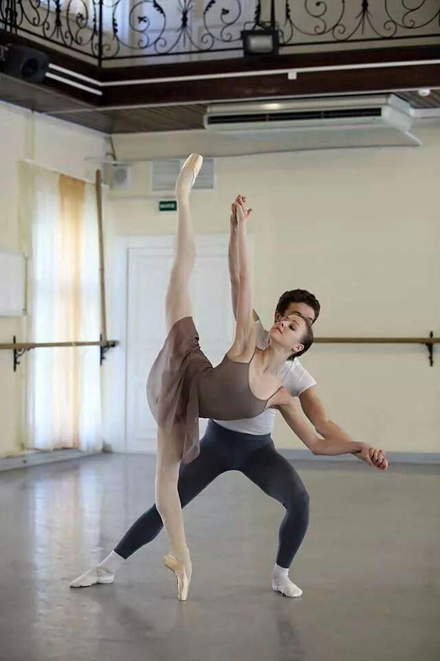 Anastasia Lukina # student at Vaganova Ballet Academy # photo by Vladimir Frank