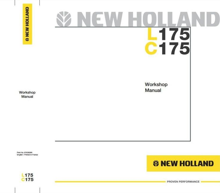 Original Illustrated Factory Workshop Service Manual for New Holland Skid Steer Loader L, C -Series.  Original factory manuals for New Holland Trucks, contains high quality images, circuit diagrams and instructions to help you to operate, maintenance and repair your truck. All Manuals Printable, con