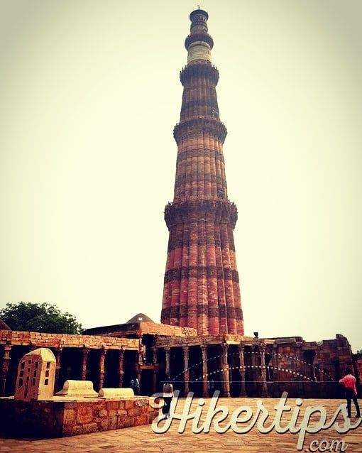 The Qutub Complex is one of the most beautiful places in Delhi