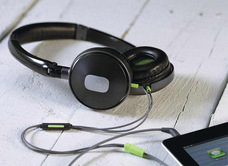 Casque audio Pure AV 0054: Audio de haute qualité avec ce casque. Pure AV aux basses puissantes et aux sonorités dynamiques. Grâce à sa télécommande avec microphone intégré, ce casque sera le meilleur ami de votre Smartphone, tablette ou MP3. Réf. G2H1000cwBLK. http://www.exertisbanquemagnetique.fr/info-marque/belkin #Belkin #CasqueAudio #Audio