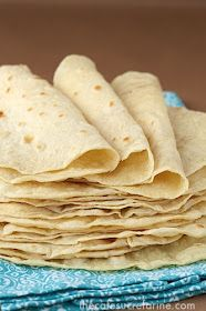 The Café Sucré Farine: Best Ever! Homemade Flour Tortillas