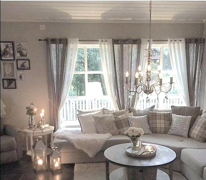 Wohnzimmer Vorhang Ideen Modern In 2020 Farmhouse Decor Living