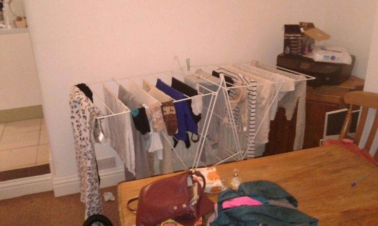 1 clothes horse equates to 9 pints of atmospheric moisture