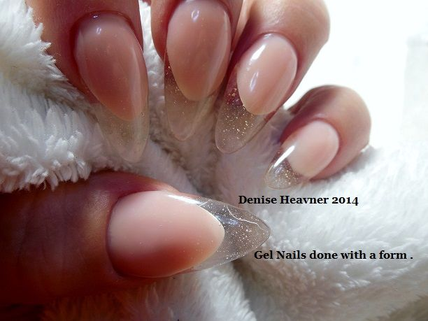 Square Clear Gel Nail Construction Bold And Beautiful Nails My Own Designs Visit Me On Facebook Pinterest