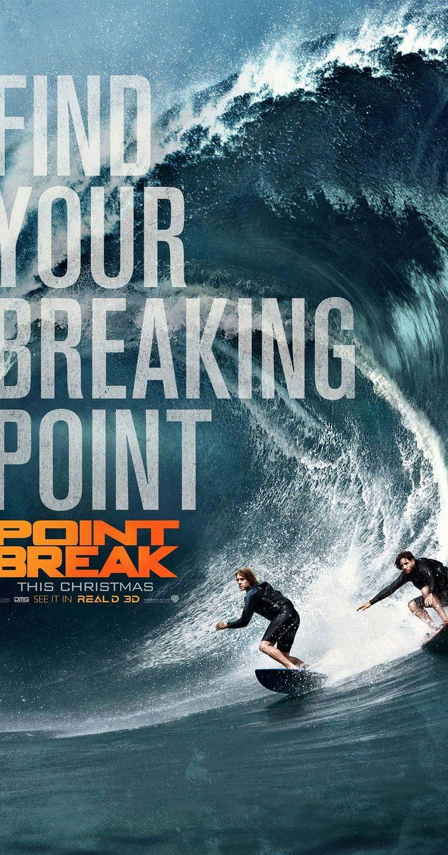 Directed by Ericson Core.  With Edgar Ramirez, Luke Bracey, Ray Winstone, Teresa Palmer. A young FBI agent infiltrates an extraordinary team of extreme sports athletes he suspects of masterminding a string of unprecedented, sophisticated corporate heists.