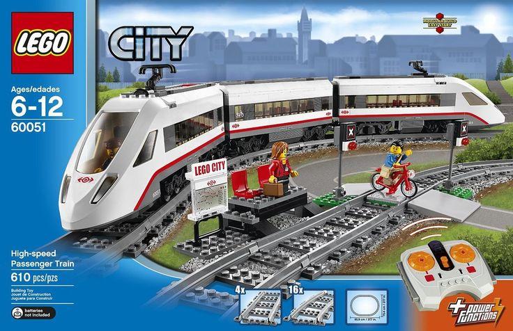 LEGO City High-Speed Passenger Train 60051 - Discount Toys USA
