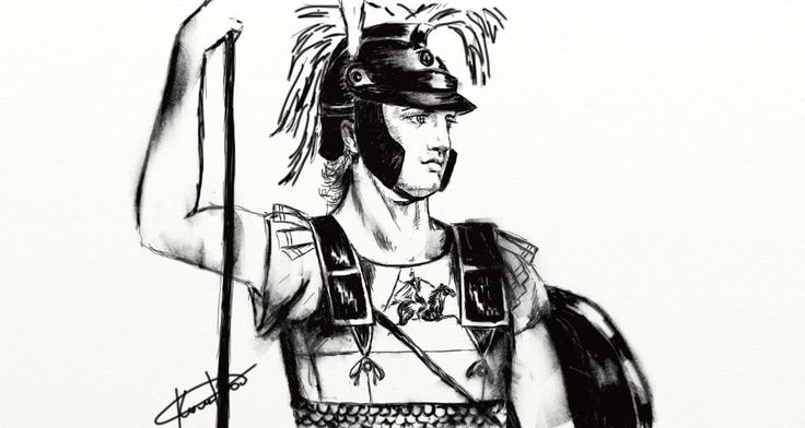 Hephaestion Hypaspists by PirraAiren.deviantart.com on @DeviantArt