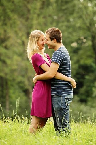 Romantic dating profile