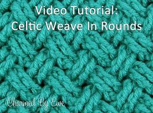 Crochet Tutoral: Celtic Diagonal Weave in Rounds ✿⊱╮Teresa Restegui http://www.pinterest.com/teretegui/✿⊱╮