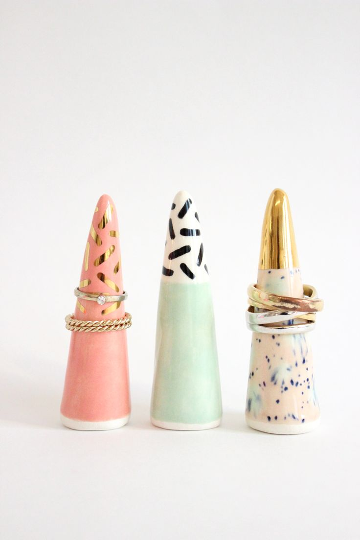Ceramic Ring Holder By Quiet Clementine - From Baba Souk