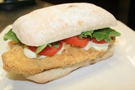 McCormick For Chefs - OLD BAY and Corn Crusted Tilapia Sandwich