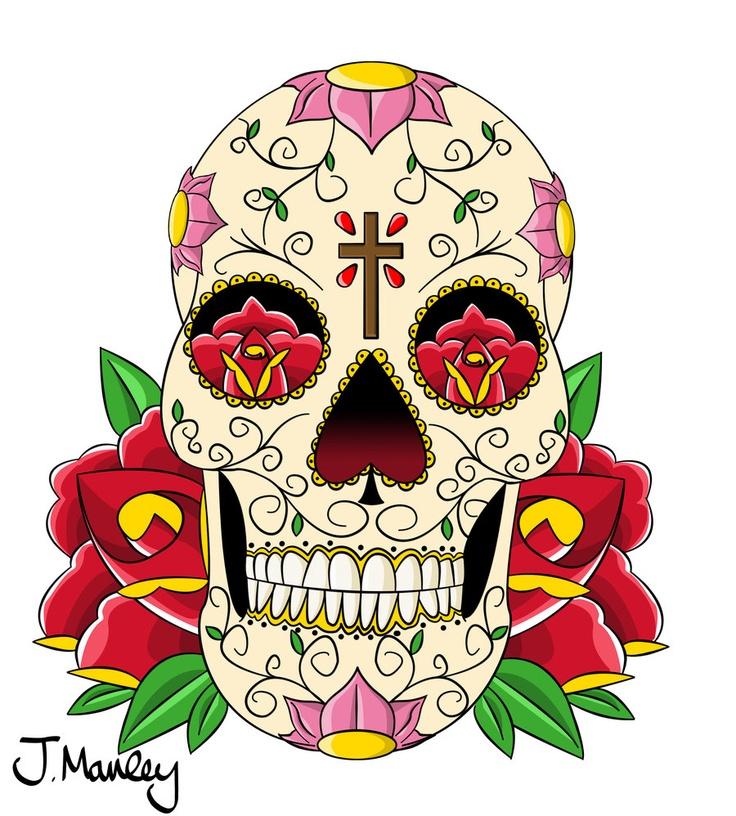 178 besten tattoos bilder auf pinterest totenk pfe aus zucker t towierungen und coole tattoos. Black Bedroom Furniture Sets. Home Design Ideas