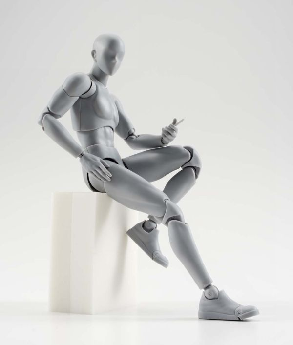 Male Man Gray Ver DX Set (Re-release) S.H.Figuarts [Action Figure] by Bandai